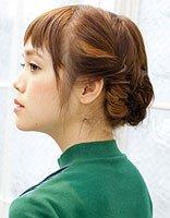 披肩短发发型扎法 披肩中短发发型