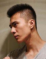 运动男士发型图片及名称 小男明星发型图片