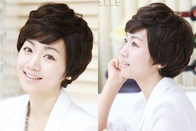 中年妇女发型