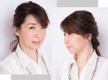 直发简单的扎头发方法 中长直发扎头发的图解