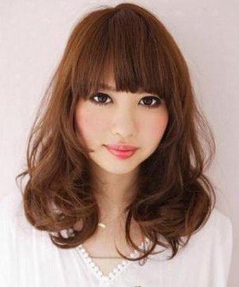 适合洋梨型脸的发型 洋梨脸适合什么发型图