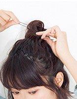 韩国中学生齐耳短发怎么扎好看 韩版中学生短发扎法