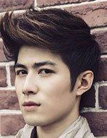男生颜色比较有个性的短发发型 男生个性颜色飞机头短发发型