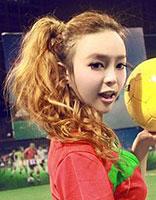 性感活力足球宝贝发型SHOW 为2016里约奥运会加油添彩