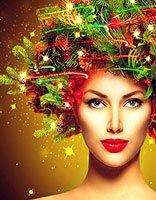 元旦节即将到来之际 将如何打造节日氛围发型