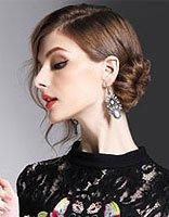 森女发型与刺绣民族风 金鸡年从腊月点开怀旧篇章