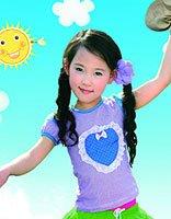 夏天小女孩适合的发型打造 可爱乖巧的孩子时尚造型