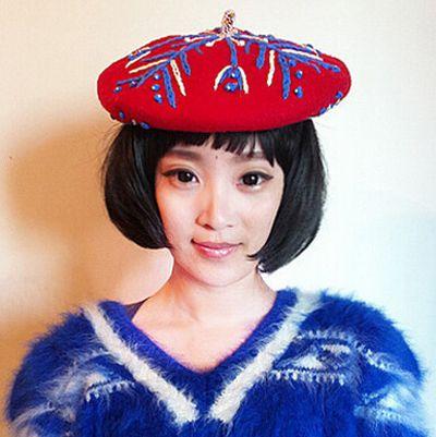 适合波波头的帽子 波波头适合的帽子
