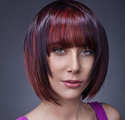 发型热点 > 长脸适合什么发型 >   三四十长方脸的女人对是最有魅力的图片
