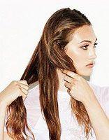 韩式辫子卷发发型的扎法编法图解步骤 韩国辫子发型扎法细节图