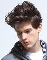 男子自然卷发型名字 自然卷发型男生90后