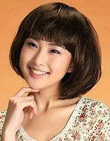 个子小方脸怎样梳短发  方脸女适合的短发图片