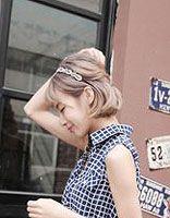 女生职业短发发型图片 2015女生职场短发发型