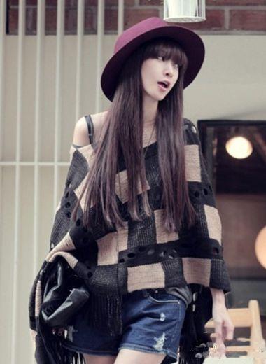 适合长脸的女生发型 长脸适合的发型图片