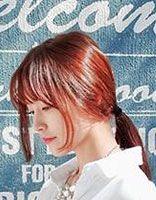 窄额头宽脸的扎发 女生宽脸发型扎发