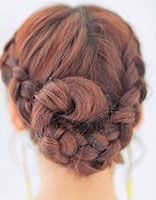 女生发型绑扎图片 学习女生盘发发型步骤