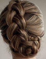 女生发型编发盘发 女生盘发发型步骤