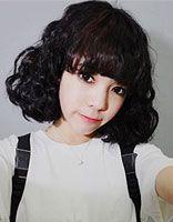 烫韩式蛋卷头 女生蛋卷头烫发发型