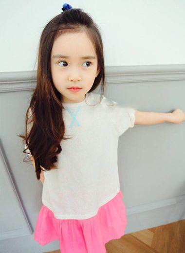 小女孩怎么设计发型 小女孩潮流发型图片