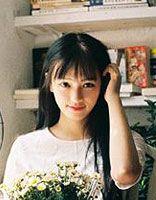 女生大脸型适合的长直黑发图片 适合大脸女生的长直发