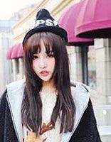 日本圆脸女性发型 日系的女生发型图片