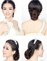 韩式新娘发型扎法 最炫新娘盘发教程