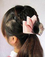 小孩编头发的发型步骤及图片 编头发的花样发型图片