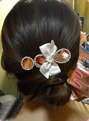 包包头盘发怎么做 韩式包包头侧盘发步骤
