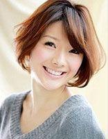 中年女性波波头烫发发型 中年短发波波头图片