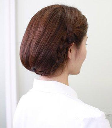怎样扎长头发变成短发 长发变短发扎发步骤