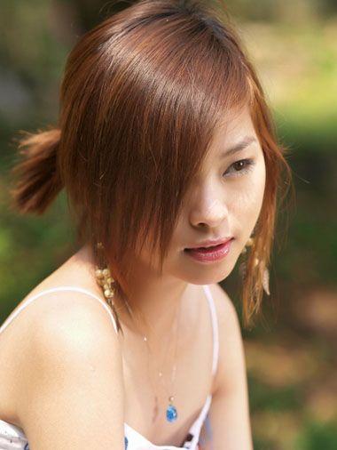 可爱女生大饼脸该怎么打理发型 适合大饼脸女生的简单学生发型