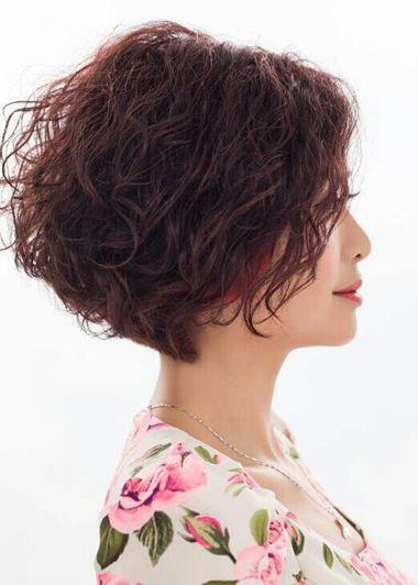 女士短发小卷图片_烫发的种类_男生烫发的种类图片_好看的烫发种类_烫发种类及 ...