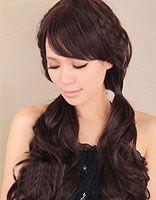 韩式麻花辫发型扎法 花式发型麻花辫扎发步骤