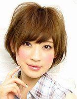 女子国字脸适合的短发型图片 国字脸女生波波头短发