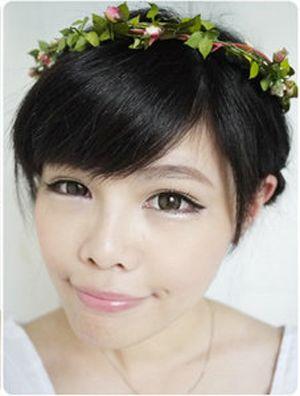 韩式编头发的方法图解 各种韩式编头发图解