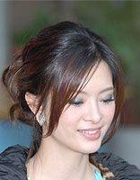 胖圆脸中年职业女士适合的发型图片