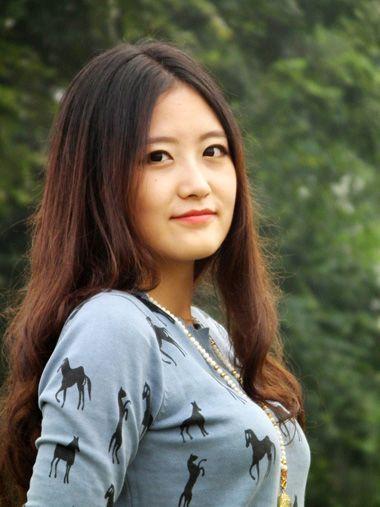 脸大适合什么刘海图解 大脸怎么留中分发型图片