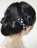 方脸型怎么盘发可以修饰脸 适合方脸女生的简单盘发