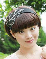 娃娃脸+蓬头发适合什么短发 娃娃脸女生帅气短发