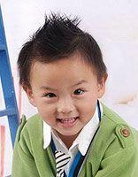 三四岁男宝宝发型好看图片 三岁男孩发型大全