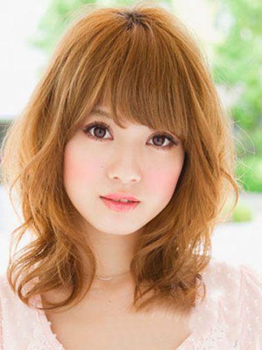 脖子短脸大的女孩子适合的发型 大脸女生发型