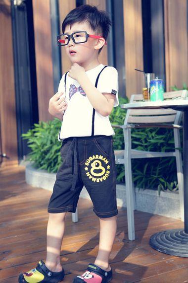 男童的韩版发型 可爱男童发型