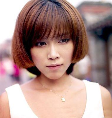 中年女士BOBO头发型 短bobo头发型图片
