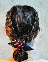 42岁的简单辫子发型 比较传统的女生长辫子发型