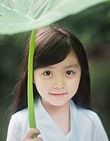 儿童发型绑扎方法图片 古典女童风格的儿童发型图解