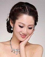 新娘短发发型 短发新娘发型教程
