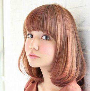 适合超大国字脸的女生短发发型 国字脸女生短头发造型
