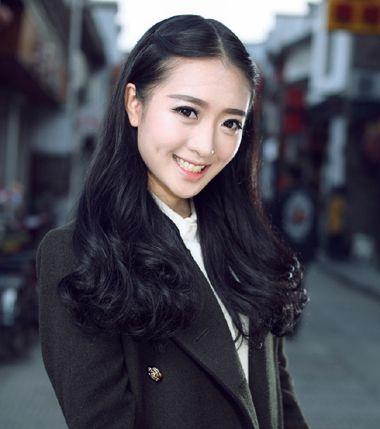 2016年韩版内扣式中长款梨花头 长版梨花头的图片