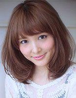 大圆脸女生适合发型 大圆脸适合的发型图片