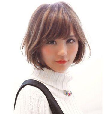 齐刘海bobo直发发型 最新女生bob头发型